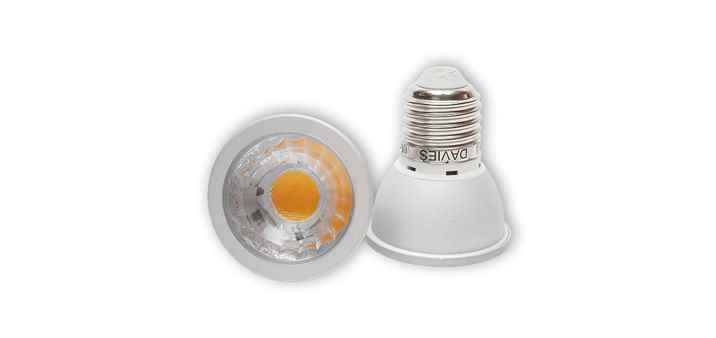 LED Spot 6W E27 dimmbar