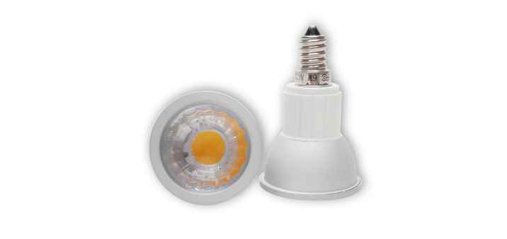 LED Spot 6W E14 dimmbar