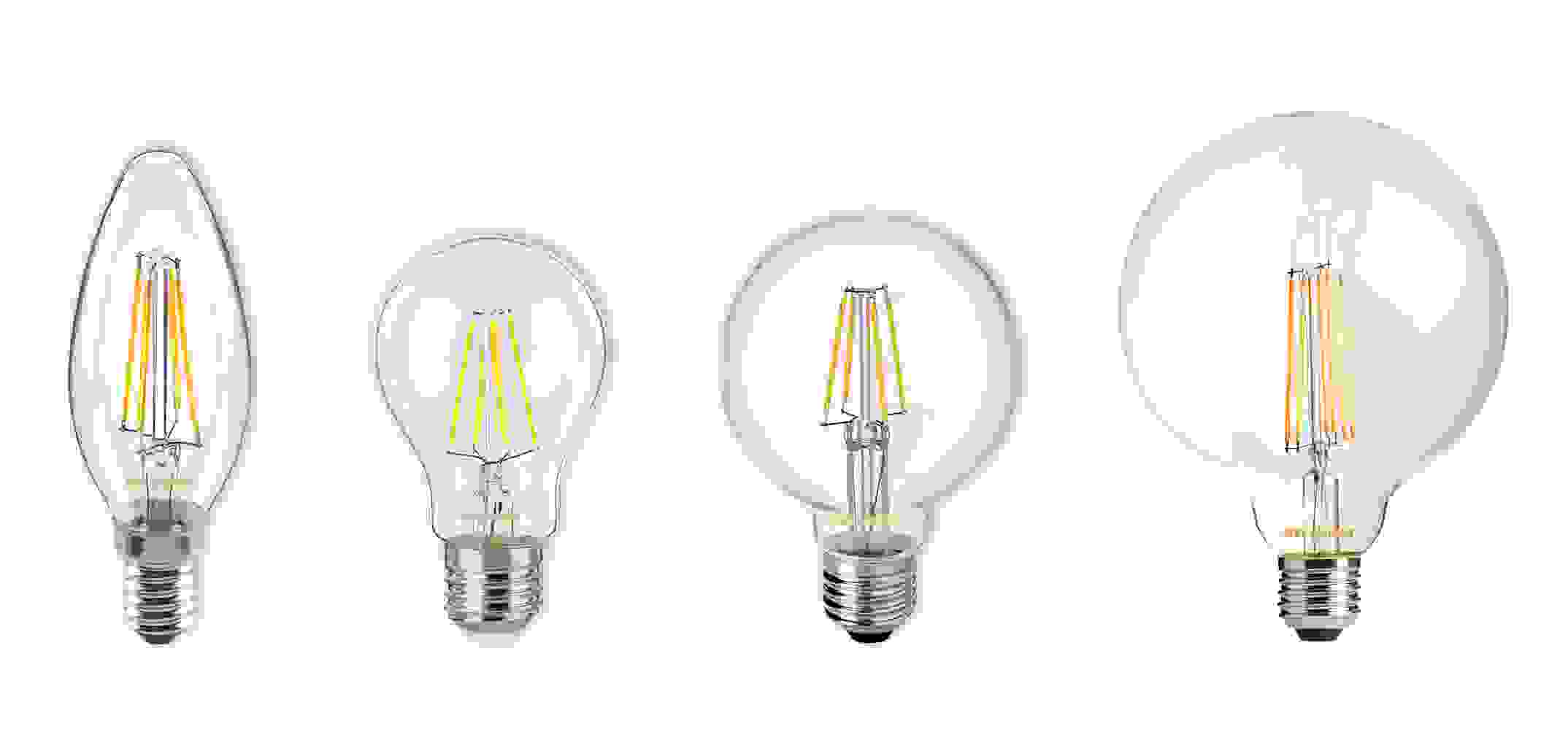 LED Filament Leuchtmittel / Bulbs