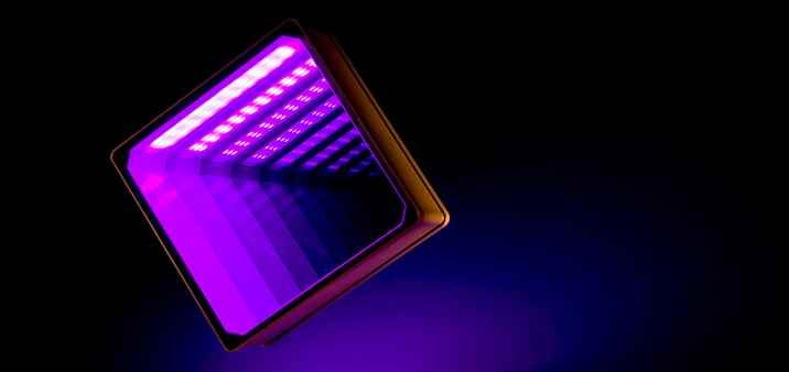 LED RGB Glasbaustein / Glass Brick