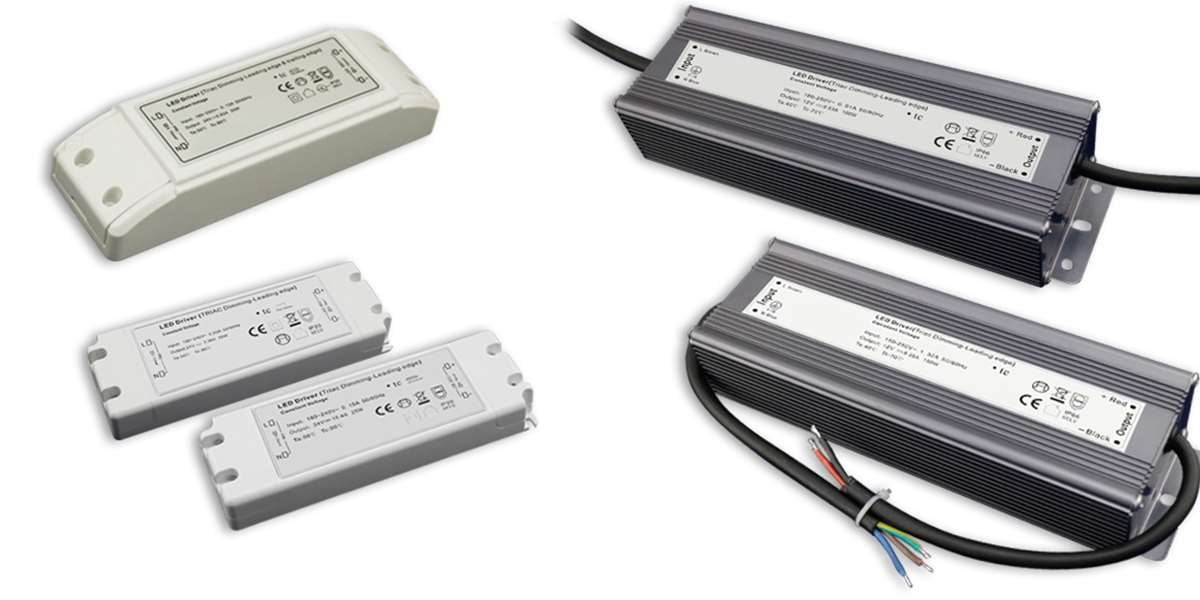 TRIAC LED Netzteile / Trafos 12/24 Volt dimmbar