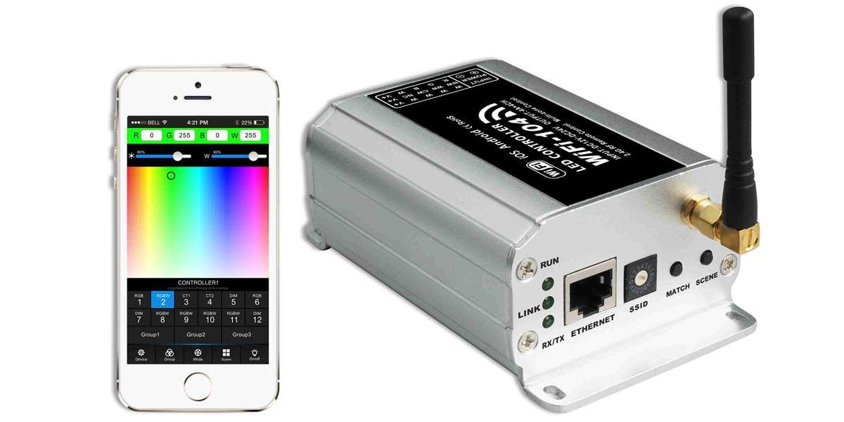 WIFI Funk 4-Kanal Multizonen LED Controller