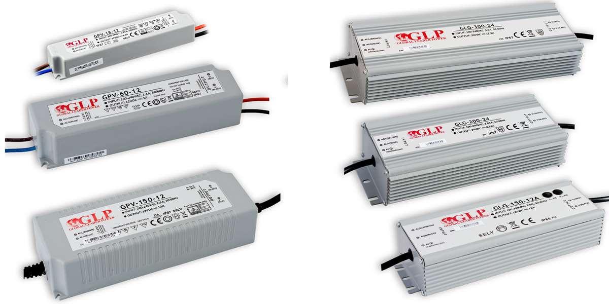 GLP LED Netzteile / Treiber 12/24 Volt
