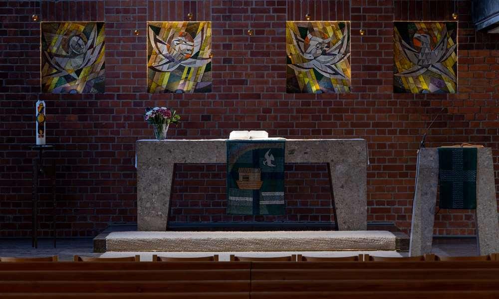 Nahansicht Altar