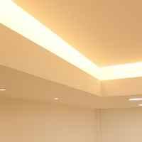 Detailansicht Indirekte Beleuchtung