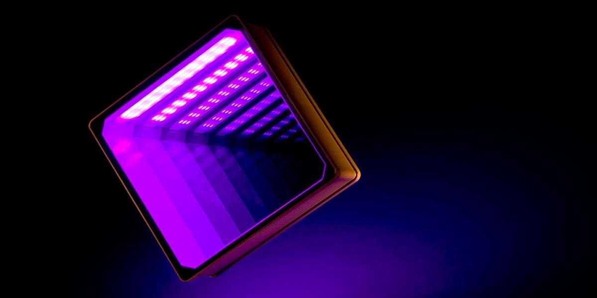 LED RGB Glasbaustein / Glass Brick